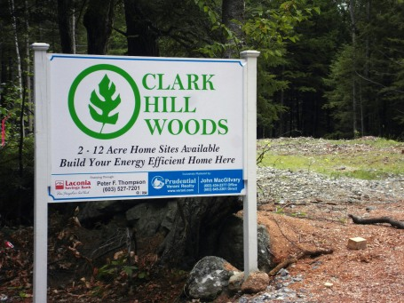 Clark Hill Woods Sign